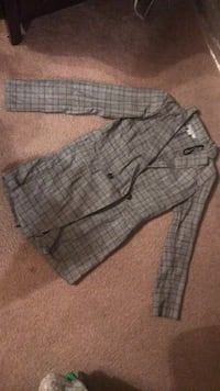gray and black plaid button-up shirt Houston, 77042