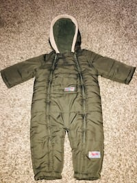 TKW 18 month old one piece snow suit
