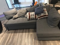 Sectional with pull out full sofa option Washington