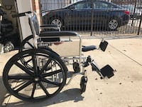 bariatric wheelchair 22 in HD. WE DELIVER $ Newark