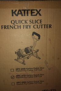 French fry cutter brand new in the box