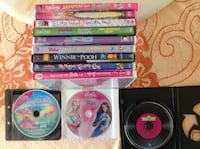 12 Children's DVD's all in excellent condition. Smoke & pet free home. The Nation / La Nation, K0A 2M0