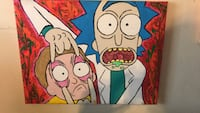 Rick and Morty Acrylic Painting  Winchester, 22601
