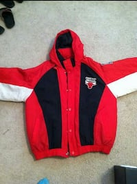 Red and black chicago bulls hoodie jacket Norfolk, 23518