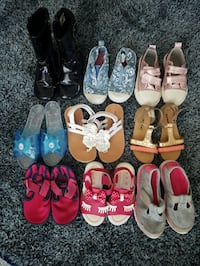 Toddler girls shoes Size 7-10 Coquitlam, V3B 8A6