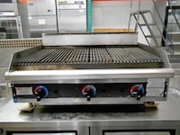 "Used 36"" Lave Rock Broiler TAMPA"