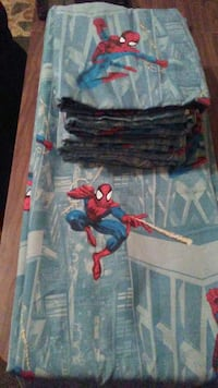 Long Spiderman curtains