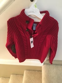 BNWT Gap 4T toddler boy sweater Burnaby, V3J
