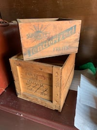 Antique Wooden Boxes MUST GO! Morristown, 07960
