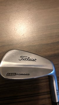 Titleist pw with rifle 6.0 shaft.hit it close with this bad boy all day. Coquitlam, V3E 0B9
