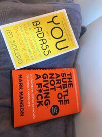 2 books- You are a Bad Ass & The Subtle Art of Not Giving a F**k Vaughan, L4H 1M6