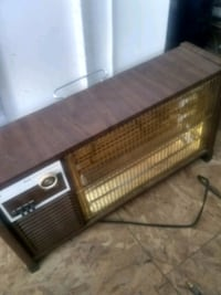 "Heater 24"" across,works good. Warren"