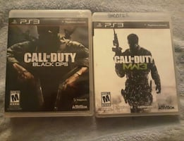 2 Call of Duty PS3 Games