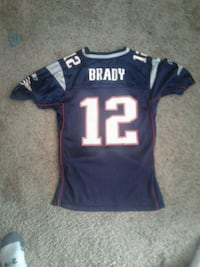 Brady 12 jersey patriots children large (14-16) Richmond, 56368