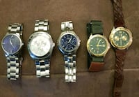 5 Guess Watches need batteries price firm  Raleigh, 27610