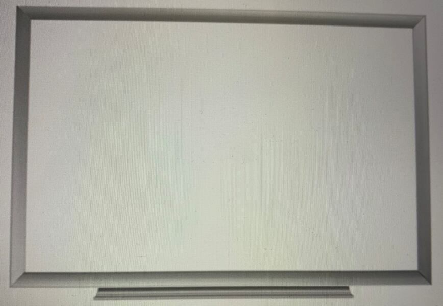 "Dry erase board 24"" x 36"" attachable tray for markers and erasers 05bad0c5-e0a9-4060-a0ce-1b362ff66e66"