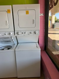 "Kenmore white stacked washer and dryer unit 24"" Woodbridge, 22191"
