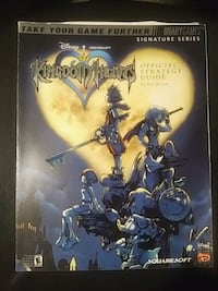 Kingdom hearts official guide Playstation game