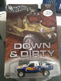 Hot Wheels Toyota Down and Dirty Fountain Valley, 92708