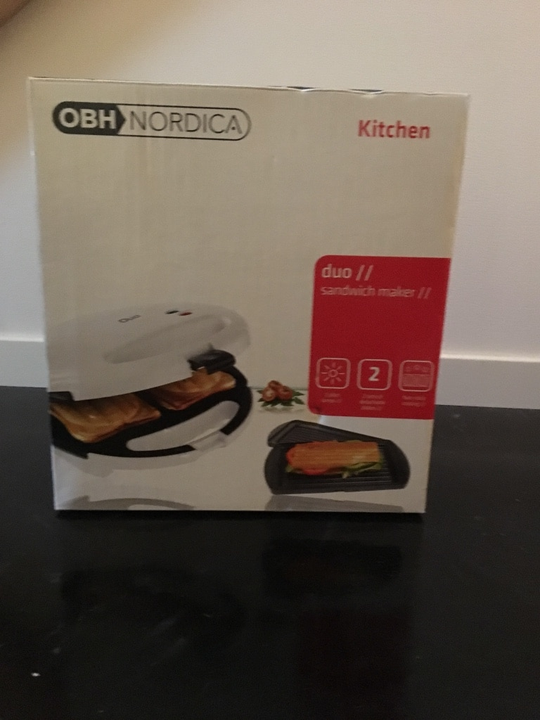 OBH Nordica sandwich maker
