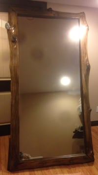 "34"" x 74"" mirror framed with Live edge Douglas Fir Saanich, V9E 1J9"
