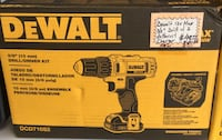 Dewalt 12v Max 3/8 drill with 2 batteries and charger. Brand new Lindenhurst, 11757