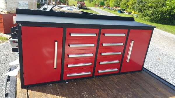 Excellent 7Ft 10 Drawer Workbench Tool Box Caraccident5 Cool Chair Designs And Ideas Caraccident5Info