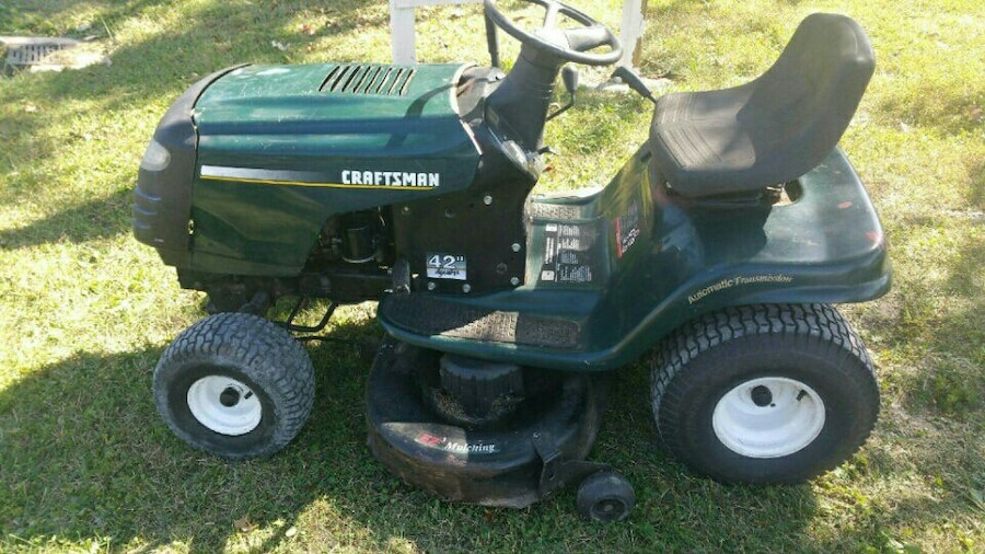 Used Craftsman Riding Mower 42 Quot Deck In Louisville
