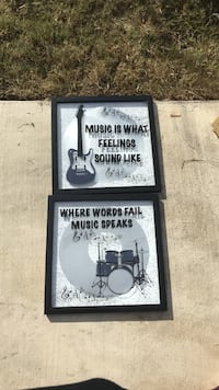 Band frame with picture