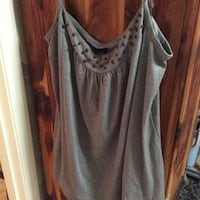 JUST REDUCED grey tank top Rockville