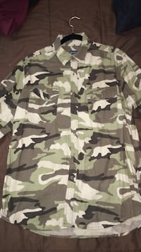 Faded Glory Camo Shirt (Size L). Arlington, 22206
