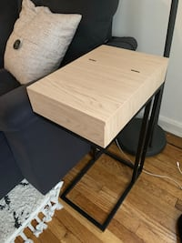 Side table with USB Ports and outlet Fort Lee, 07024