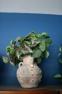 Ceramic Vase with Artificial Plant Ashburn