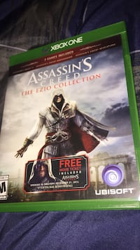Xbox 360 assassin's creed 3 game case