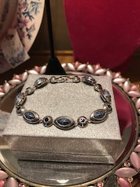 Beautiful! Silver Bracelet with Blue Stones Gainesville, 20155