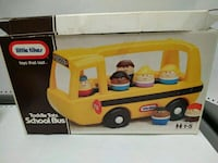 Vintage Little Tikes School Bus and 7 Toddle Tots with Box  Markham, L3T 5G8