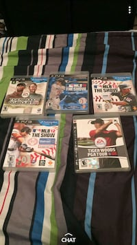 Play station 3 games  Elkhart, 46514