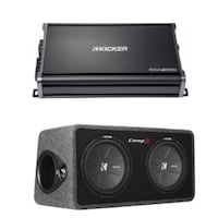 Kicker Subwoofer and Amplifier Leesburg, 20176