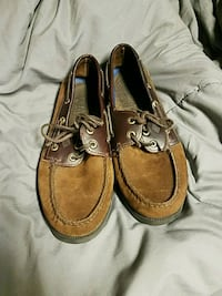 Brown Sperry Top Siders Lincoln