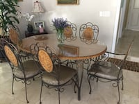 Oval table dining set for outdoor and indoor 2281 mi