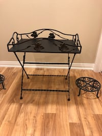 Bombay Company  Wrought Iron Foldable Table Irvine, 92620
