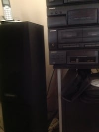 Old school deck! Cassette and disc changer. 4 pioneer speakers! Must go 80 or best offer . Bowie, 20720