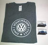 Volkswagen Tshirt Size XL plus 2 VW Beetle Turbo S 2002 Diecast Cars London