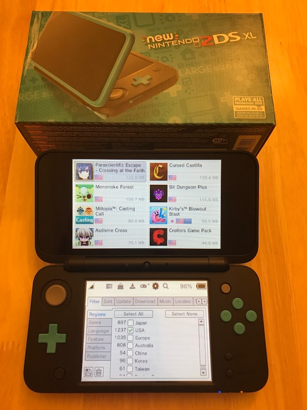 New Nintendo 2DS XL MOD for free games! Quick and easy!