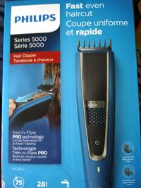 Brand new Philips clippers for hair series 5000 hair clipper