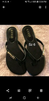 Black Guess Sandals  Edmonton, T5B 3E8
