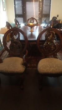 High End Tuscany Elegant Cherry Formal Dining Room Set w/Deluxe chairs RETAILS for $5,899 Silver Spring, 20902