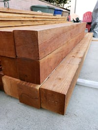 8in x 8in 8ft, 12ft, 20ft rough Douglas Fir beams