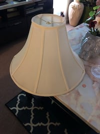Large cream color lamp shade Pittsburg, 94565
