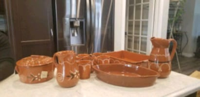 Traditional Portuguese Terracotta Cookware
